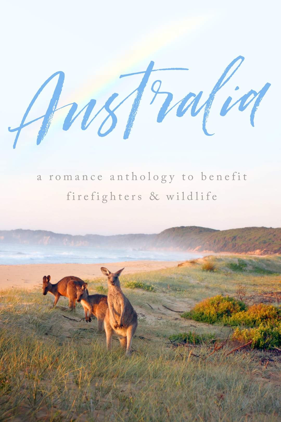 Cover Reveal and Preorder for Austrailia CharityAnthology