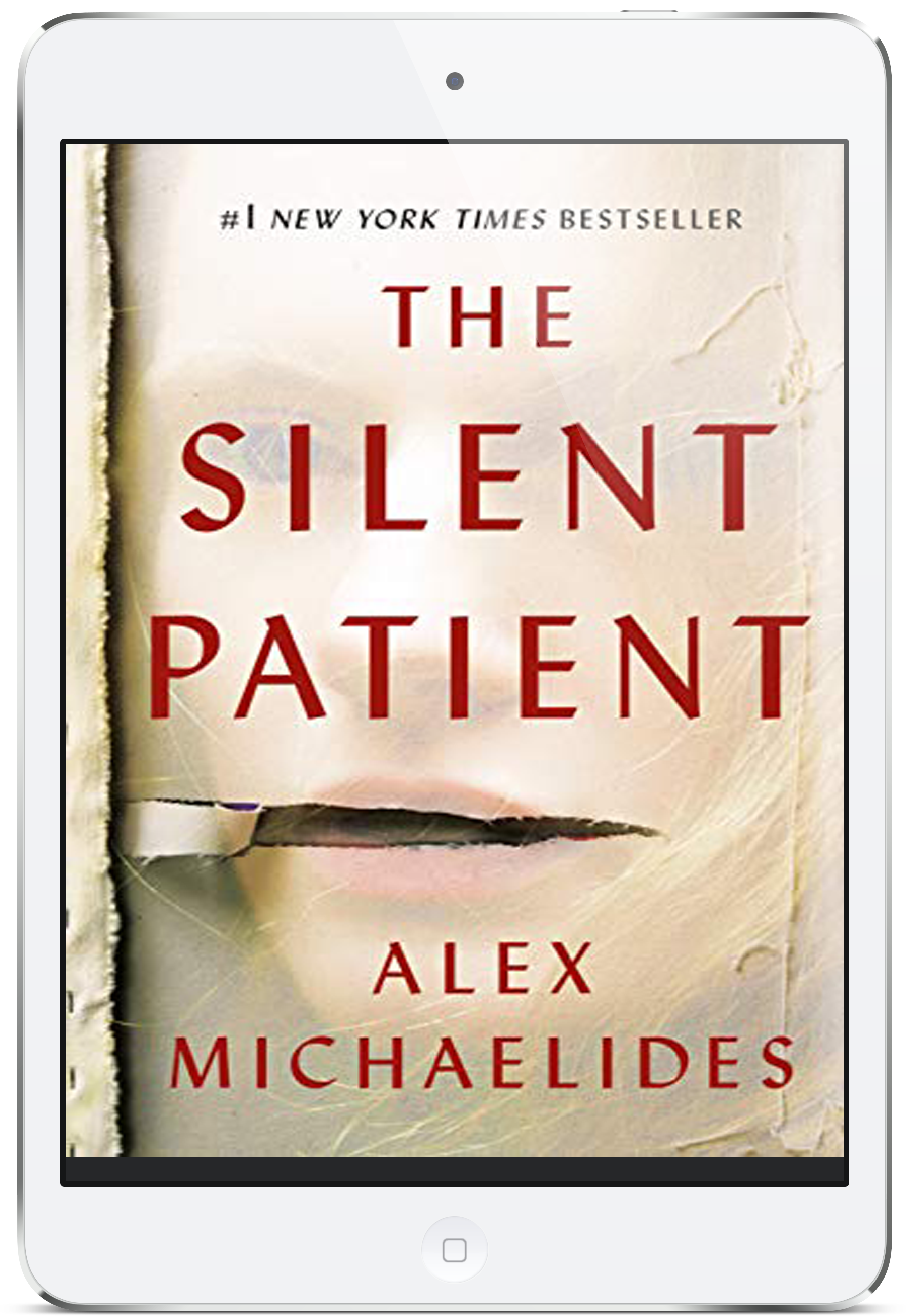 the silent patient iPad